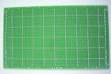 9 × 15cm 片面 FR-4ガラス・ユニバーサル基板 ハンダメッキ仕上げ