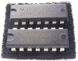 SN74HC14N シュミット トリガインバーター  2個