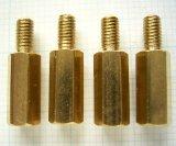 黄銅スペーサー M3 × 11mm  4個