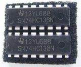 SN74HC138N 3to8 ラインデコーダー ロジックIC 2個