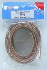 OFC 無酸素銅 スピーカーケーブル 透明 0.75sq 5m
