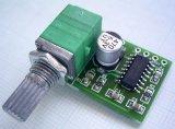 PAM8403 小型デジタルアンプ USB電源使用可 ボリューム付き